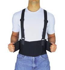 Safety Supplies - Back Support Belts