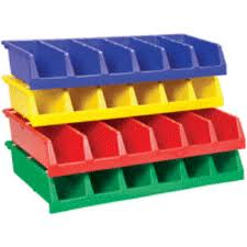 Plastic Containers - Bins