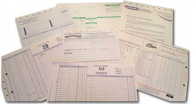 Printed Documents - Multi-Ply Snap Apart