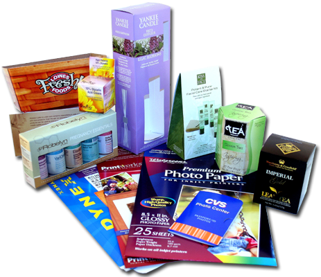 Chipboard - Printed Cartons & Sheets