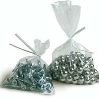 Plastic Bags - Flat- Stock & Custom
