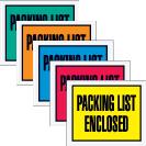 Packing List Envelopes - Full Face