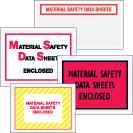Packing List Envelopes - MSDS