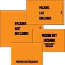 Packing List Envelopes - Military Spec.