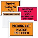 Packing List Envelopes - Packing List-Invoice